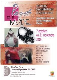 Exposition pages de mode