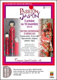 Exposition Passion Japon